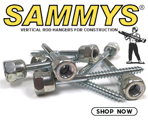 Sammys - Vertical Rod Hangers for Construction